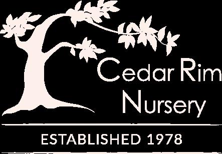 cedar rim nursery logo alt