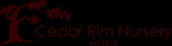 cedar rim nursery logo